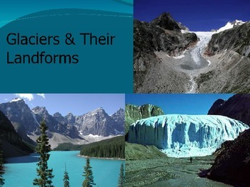 Glaciers Processes and Landforms Presentation