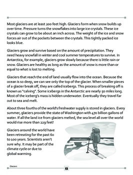 Glaciers: The Chilly Facts