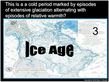 Ice Ages Lesson, Glaciers, Glacial Landforms