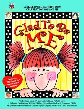 Barker Creek - Glad to Be Me Activity Book