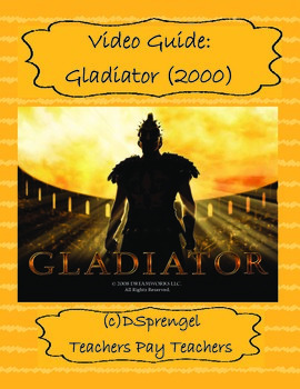 Gladiator (2002) Video/Movie Guide - 3 versions with key!
