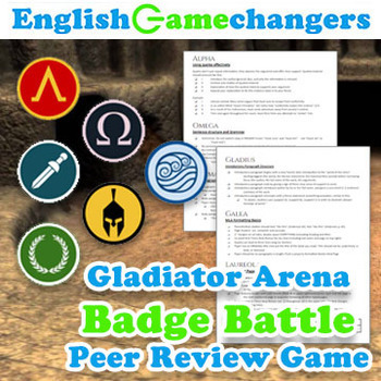 Gladiator Arena Badge Battle Peer Review: Any Level, Any Content (+LATIN Bonus)!