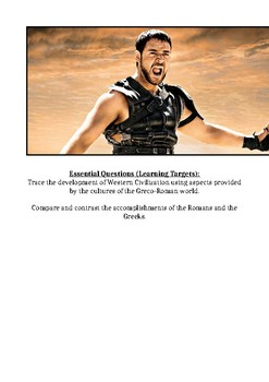Gladiator Viewing Guide (History Through Film)