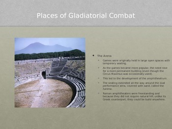 Gladiators PowerPoint
