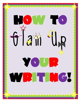 Glam-Up Your Writing