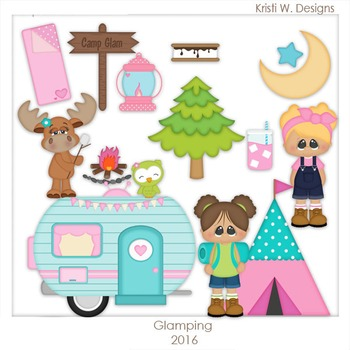 Glamping Clipart