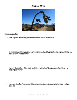 The Glass Castle Lesson - Individuality Joshua Tree