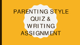 The Glass Castle Lesson - Parenting Style Activity and Writing Assignment