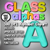 Glass / Gel Alpha Clip Art