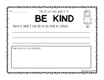Class Goals - Posters for Building Character in the Classroom FREEBIE