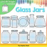 Glass Jars Clip Art