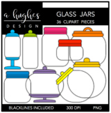 Glass Jars {Graphics for Commercial Use}