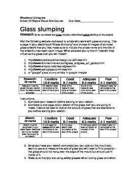 Glass Slumping