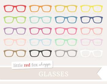 Glasses Clipart; Eyewear, Sunglasses