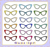 Glasses Clipart / Eyewear Clipart