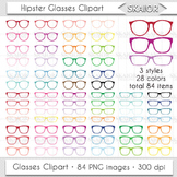 Glasses Clipart Rainbow Glasses Clip Art Eyeglasses Readin