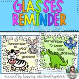 Glasses Reminder