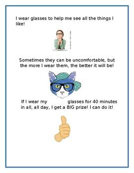 Glasses social story