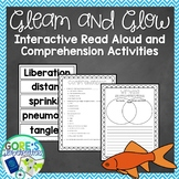Gleam and Glow Read Aloud Activities and Worksheets