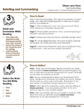 Gleam and Glow Lesson Plans & Activities Package, Third Grade (CCSS)
