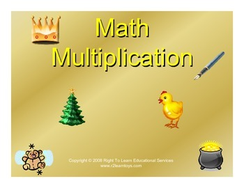 Glen Doman - Multiplication Dot Cards
