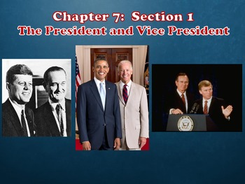 Glencoe Civics Today Chapter 7 The Executive Branch and the President Notes