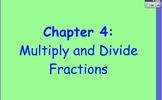 Glencoe Course 1 Ch 4 Flipchart (Grade 6): Multiply and Di