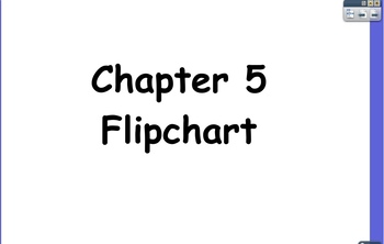 Glencoe Course 1 Ch 5 Flipchart (Grade 6): Integers and the Coordinate Plane