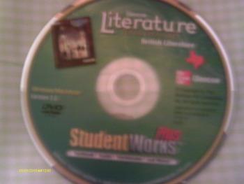 Glencoe Literature Texas Treasures British Literature Student Works Plus