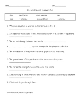Glencoe Math Worksheets & Teaching Resources | Teachers Pay Teachers