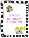 Glencoe Math Pre Algebra Ch. 1 Test