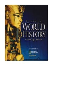 Glencoe - World History - Chapter 1-2 notes w/quiz
