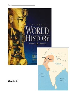 Glencoe - World History - Chapter 3 notes w/25 question quiz