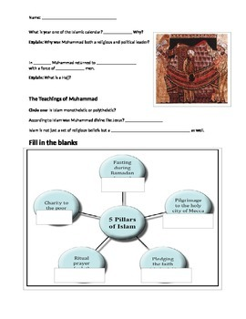 Glencoe - World History - Chapter 6 notes w/28 question quiz