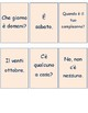 Gli interrogativi Questions and responses in Italian game