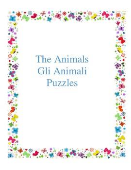 Gli animali - Puzzles