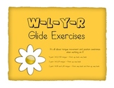 Glide Exercises for /R/