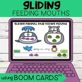 Gliding Feeding Mouths | Boom Cards™ | Minimal Pairs | Dis