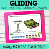 Gliding Interactive Minimal Pairs | Boom Cards™ | Distance