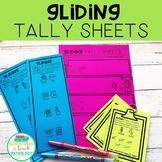 Gliding Minimal Pairs Tally Sheets