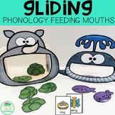 Gliding Minimal Pairs Feeding Mouths