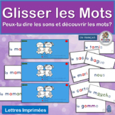 Core French Glisser les Mots works well with programs by Jolly Phonics