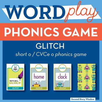 Glitch Short o / CVCe o Phonics Game