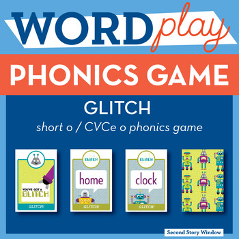 Glitch Short o / CVCe o Phonics Game