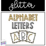 Glitter Alphabet Letters