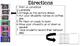 Glitter Behavior CLIP CHART
