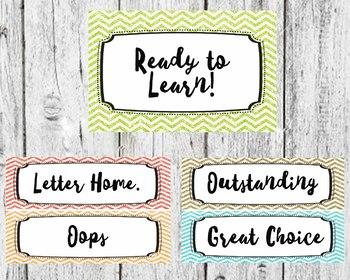 Glitter Behavior Chart, Teaching Decor, Classroom Decor