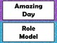 Glitter Behavior Chart With Parent Calendars