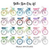 Glitter Bike Clip Art