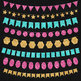 Glitter Bunting Banners Clip Art